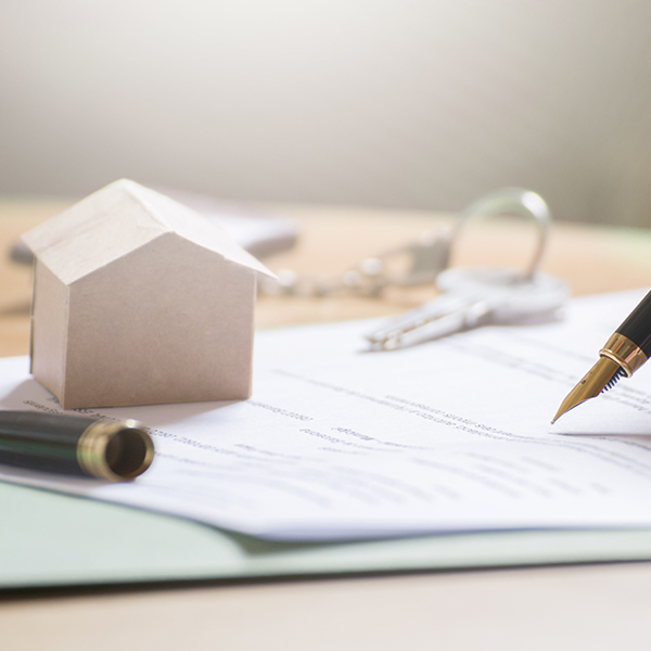 House purchase legal papers